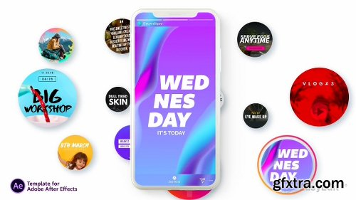 Videohive Instagram Stories V3 21850927