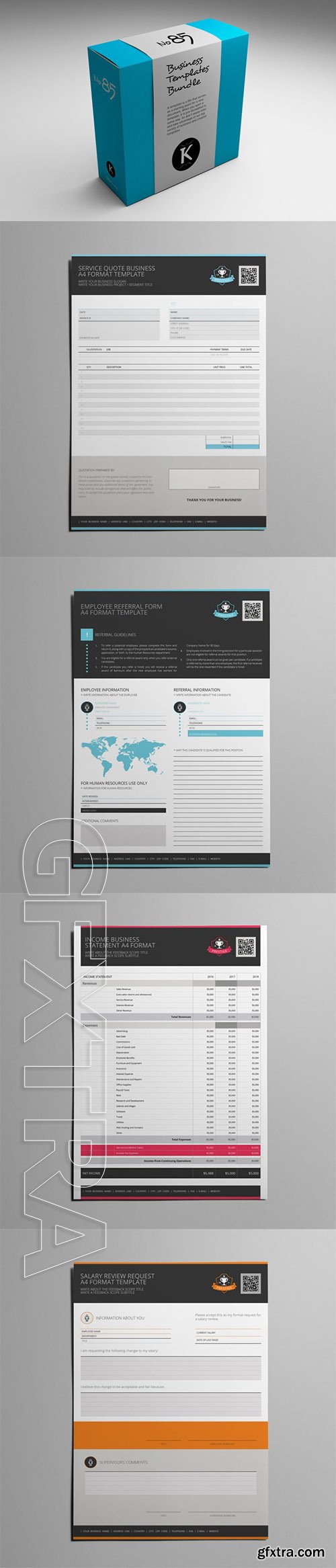 Business Templates Bundle No85