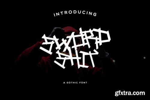 Sword Shit Font