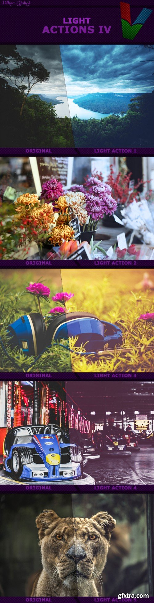 Graphicriver - Light Actions IV 15786594