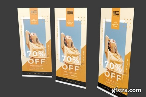 Fashion Roll Up Banner