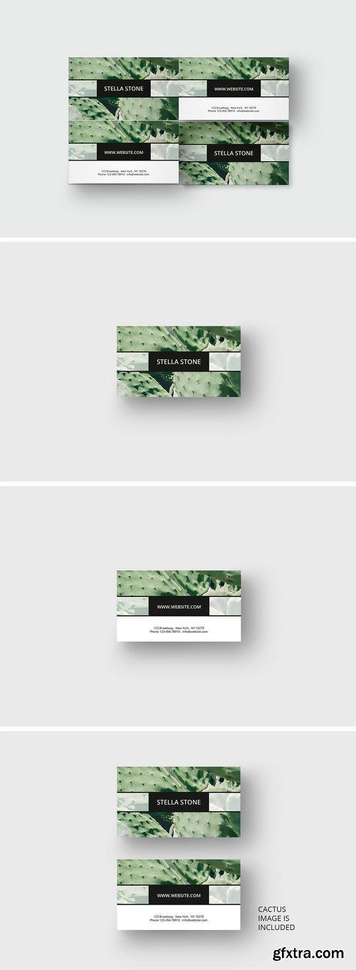 CM - Cactus business card template 1689341