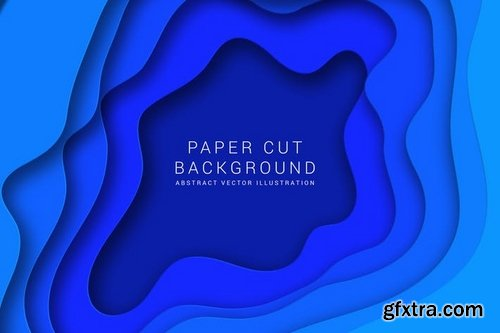 Paper cut background
