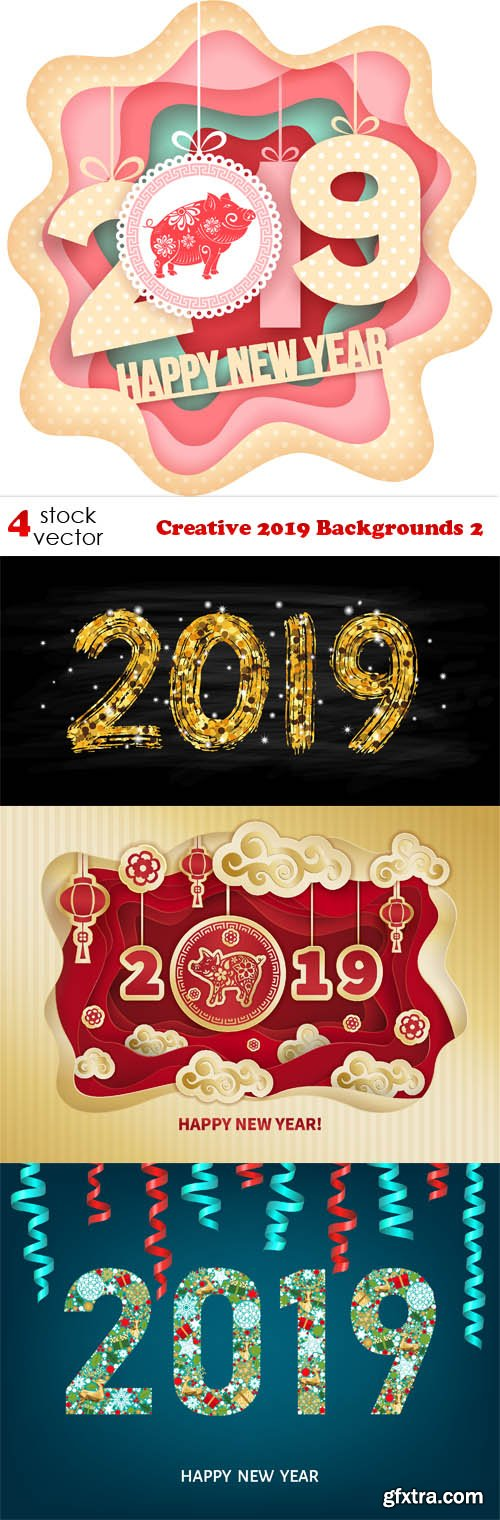Vectors - Creative 2019 Backgrounds 2