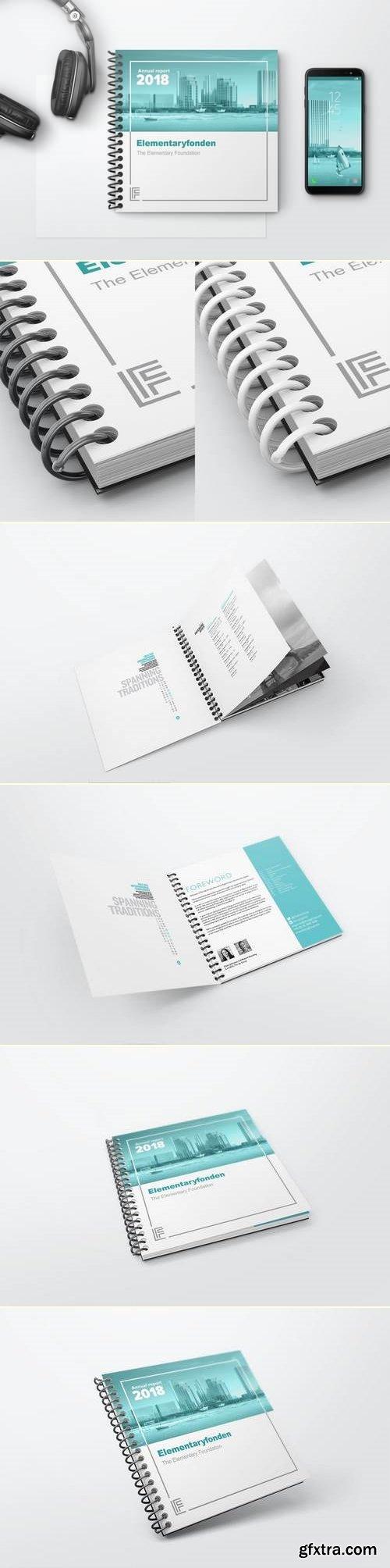 Spiral Book Binding Mockups 02