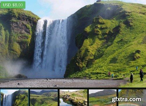 Artstation marketplace – Iceland – Photo Reference Pack