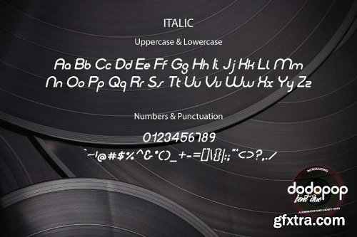 Dodopop Duo Font Family - 3 Fonts