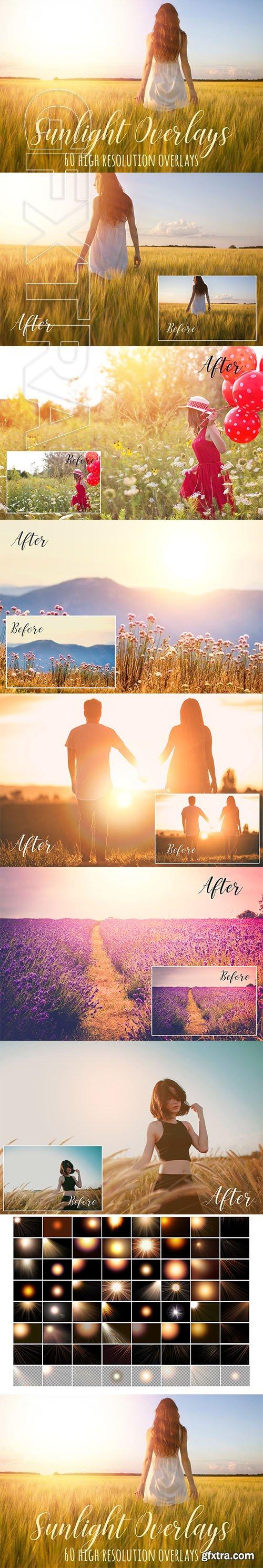 Sunlight photoshop overlays