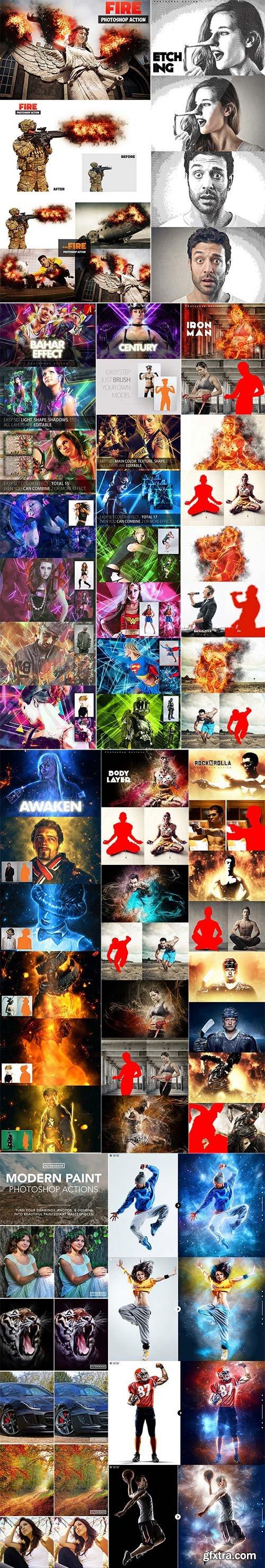 Mix Photoshop Action Bundle