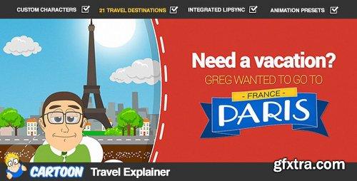 Videohive Cartoon Travel Explainer 8068670