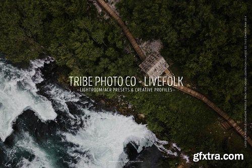 TribePhoto  - LIVEFOLK Lightroom & ACR  Presets