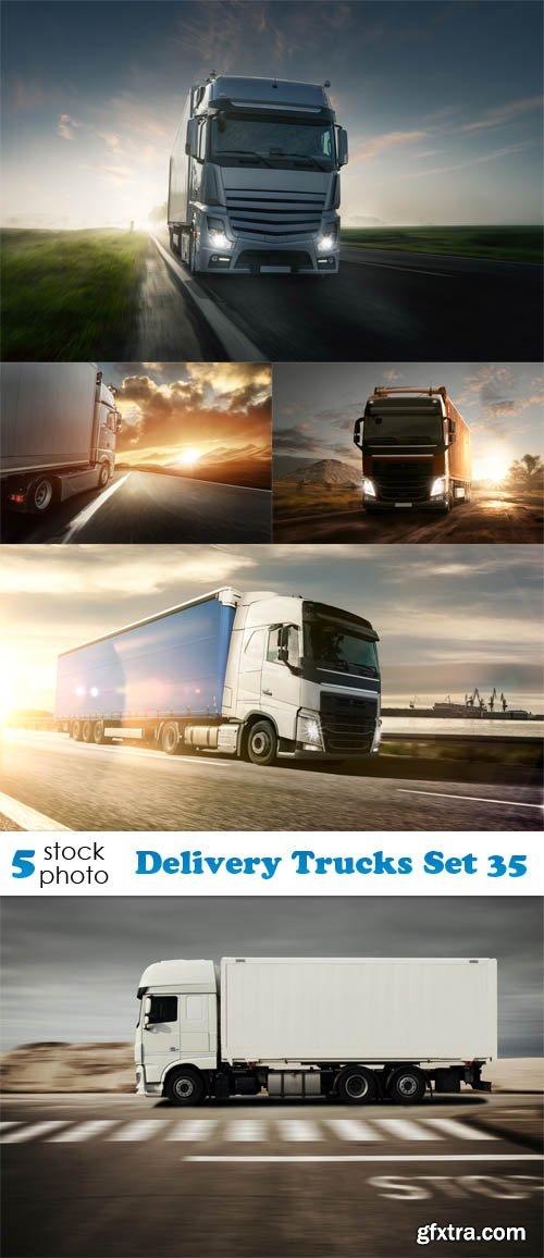 Photos - Delivery Trucks Set 35