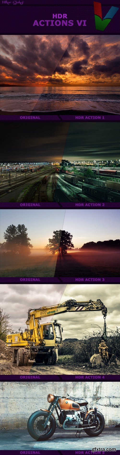 Graphicriver - HDR Actions VI 16836406