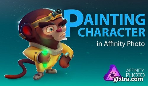 Painting Character in Affinity Photo