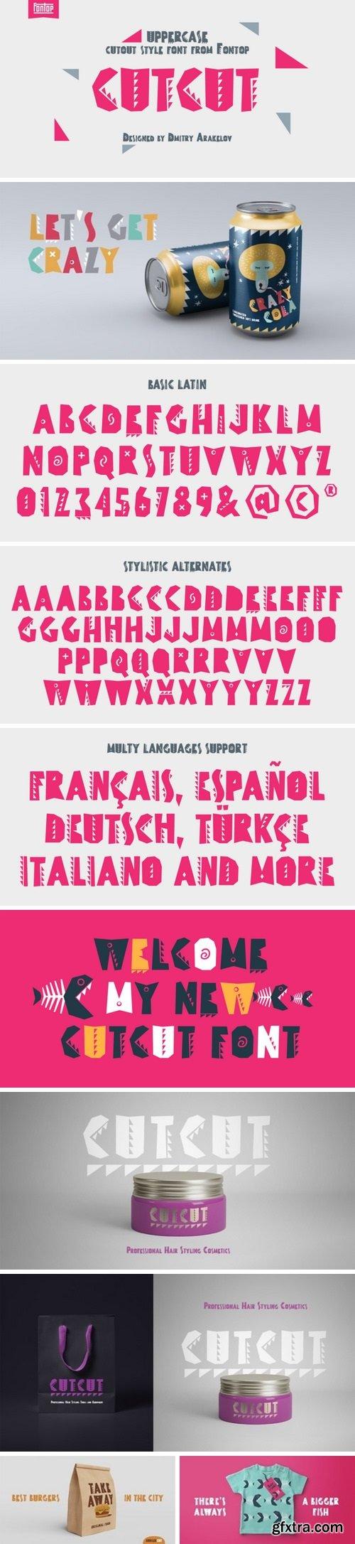 CUTCUT Font