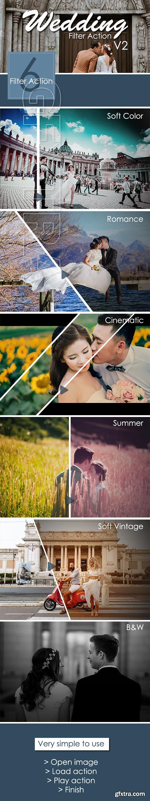 GraphicRiver - Wedding Filter Action V2 22371181