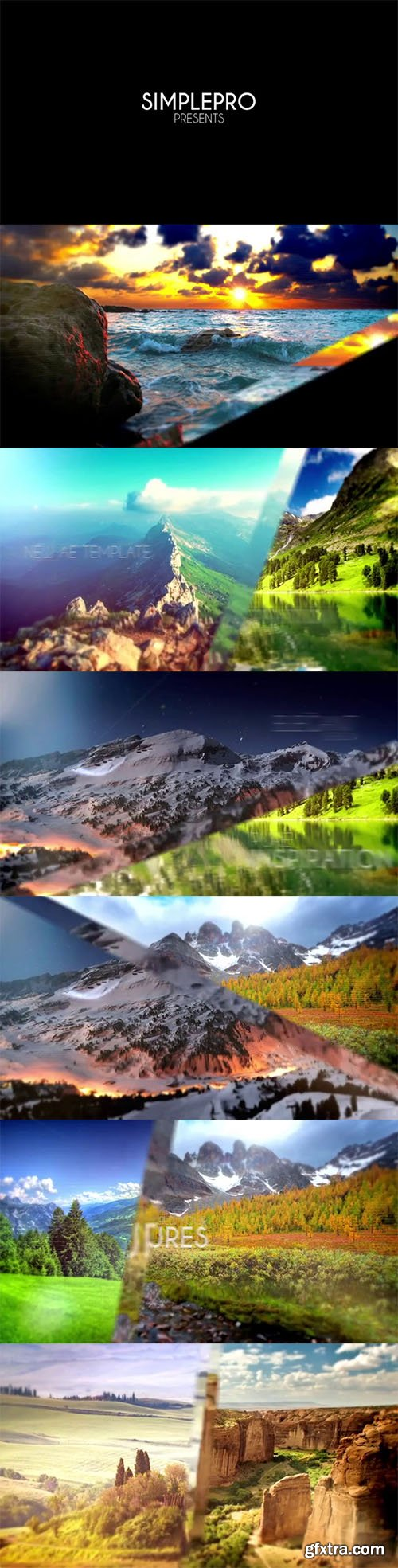 Pond5 - Modern Parallax Slideshow 66025586