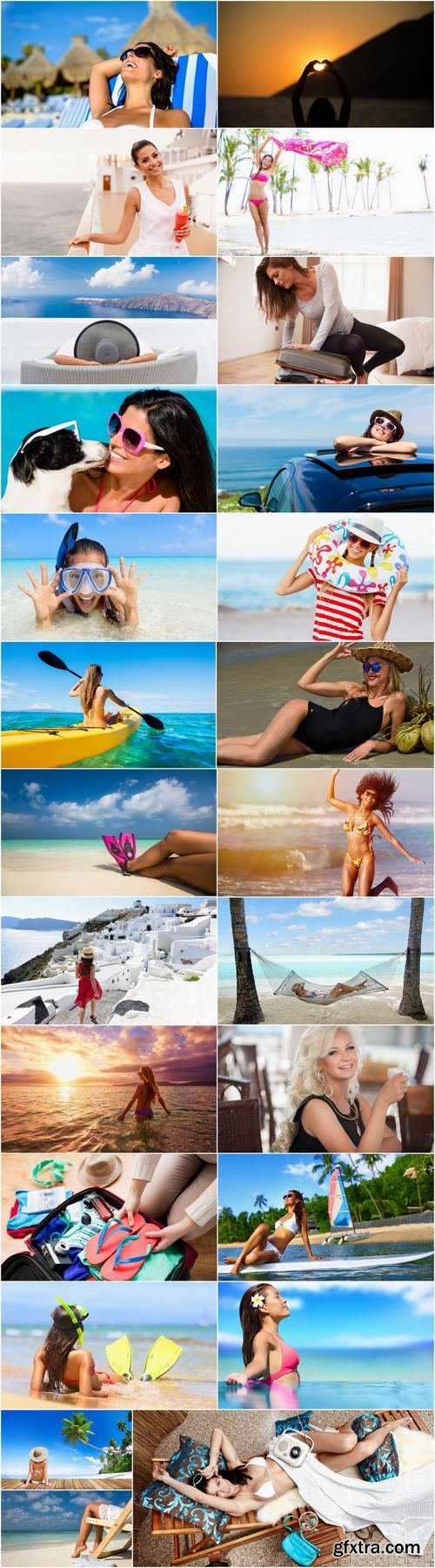 Girl woman on holiday vacation travel tourism sea beach 25 HQ Jpeg