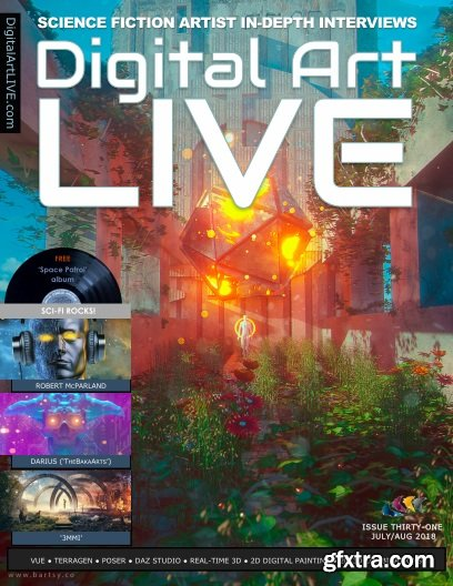 Digital Art Live - July/August 2018