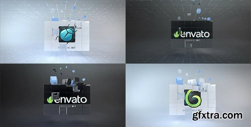 Videohive Corporate Cubes Logo Reveal 20626250
