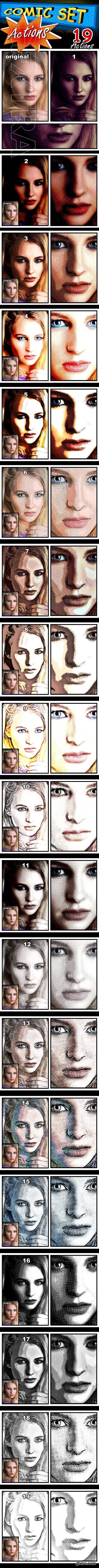 GraphicRiver - Comic Set Actions 22356377