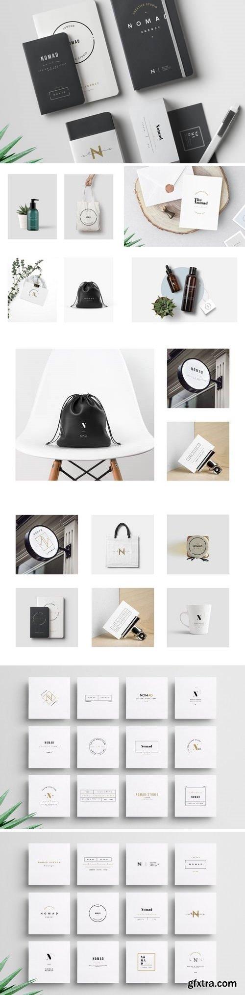 CM - Nomad Brand Logos 2834800