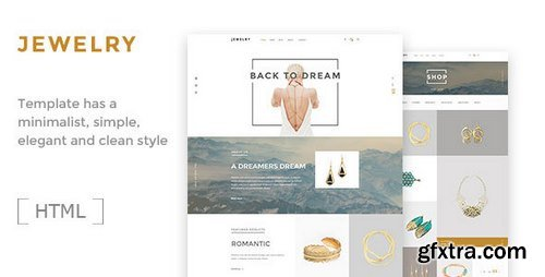 ThemeForest - Jewelry v1.0 - Ecommerce HTML5 Template - 16497135