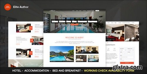 ThemeForest - Albert v1.3 - Hotel and Bed&Breakfast - 15870620