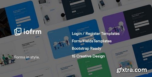 ThemeForest - Iofrm v1.0 - Login and Register Form Templates - 22413464