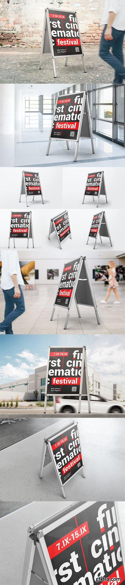 Advertising Stand Mockups