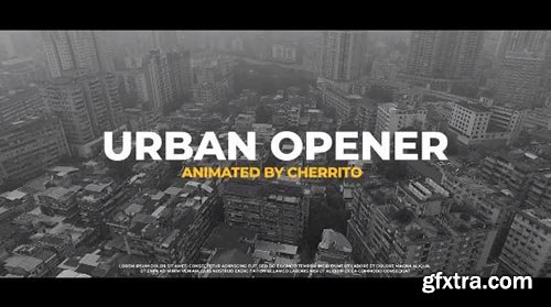 Urban Opener - Premiere Pro Templates 97703