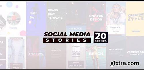 Social Media Stories - Premiere Pro Templates 97695