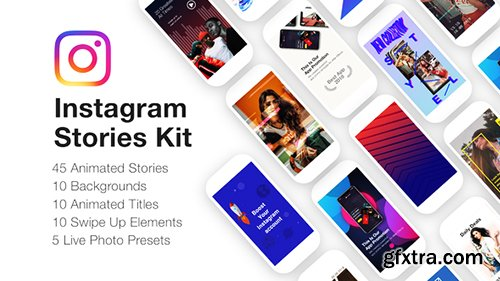 Videohive Instagram Stories Kit // Instagram Story Pack 22195723