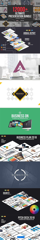 CreativeMarket - 2018 Ultimate Bundle - 60 Templates 2819238