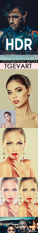 GraphicRiver - HDR Photoshop Action Bundle 22343221