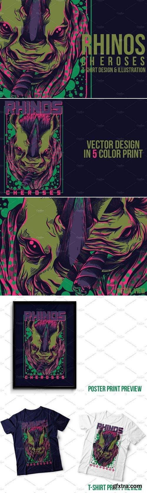 CM - Rhinos Cheroses Illustration 871659