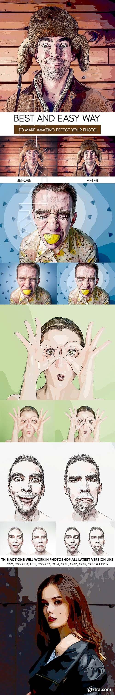 GraphicRiver - Cartoonize Photoshop Action 22360412