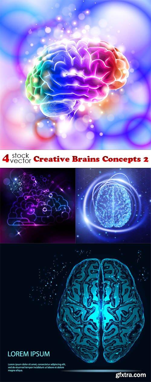 Vectors - Creative Brains Concepts 2