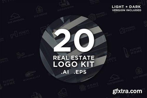 20 Real Estate Logo Kit