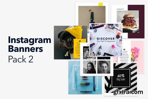 Instagram Banners Pack 2
