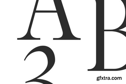 Glamour Luxury Family Font Family - 5 Fonts