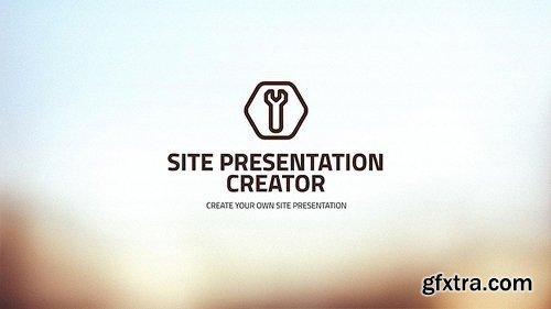 Videohive Site Presentation Creator 7710589