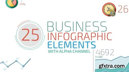 Pond5 - 25 Business Infographic Elements - 057219054