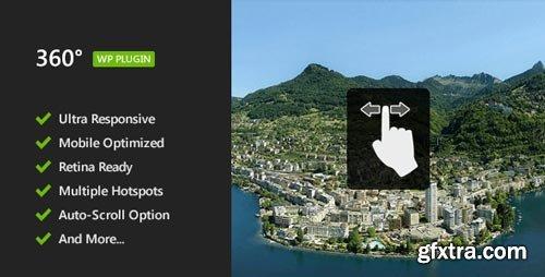 CodeCanyon - 360° Panoramic Image Viewer - Responsive WordPress Plugin V.2.0 - 5054590