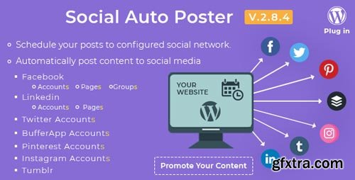 CodeCanyon - Social Auto Poster - WordPress Plugin V.2.8.4 - 5754169