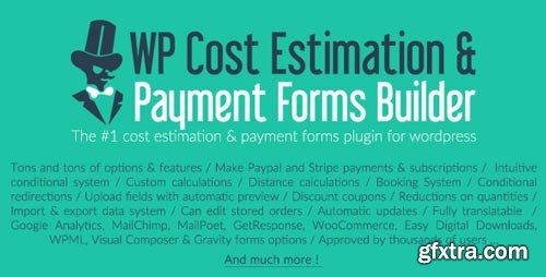 CodeCanyon - WP Cost Estimation & Payment Forms Builder V.9.637 - 7818230