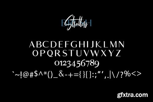 Strollers Typeface