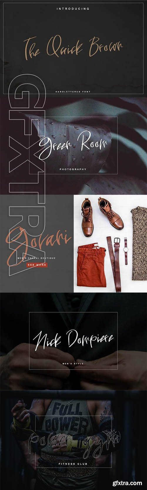 CreativeMarket - The Quick Brown 2846849