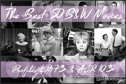CreativeMarket The Best 50 B&W Movies Profiles 2545700