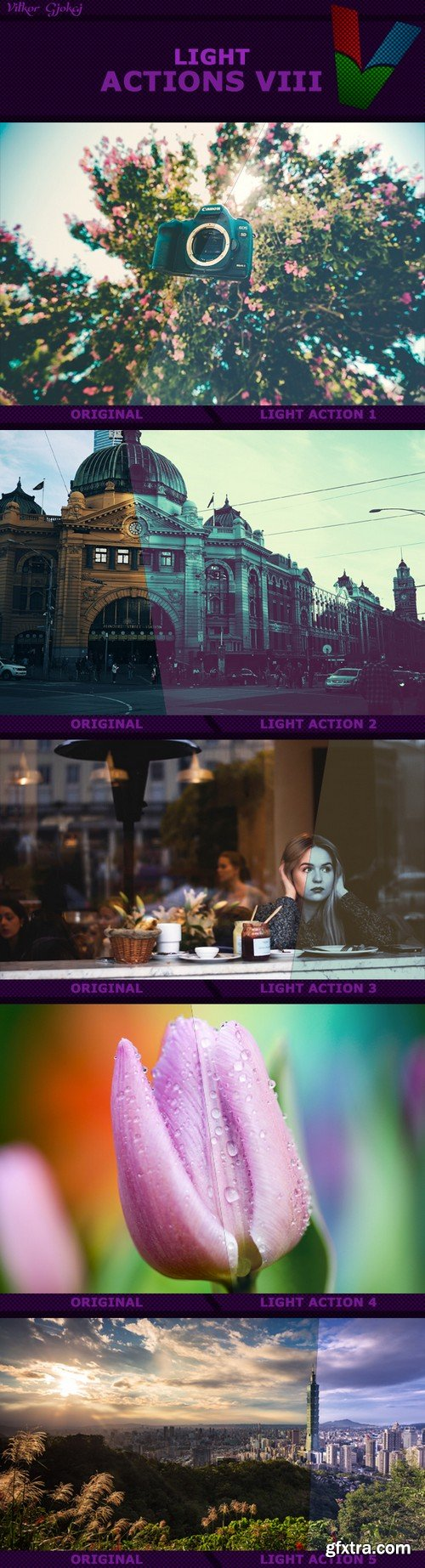Graphicriver - Light Actions VIII 17376255